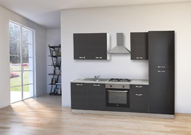 Cucina da 255 cm - Mabel s.r.l.