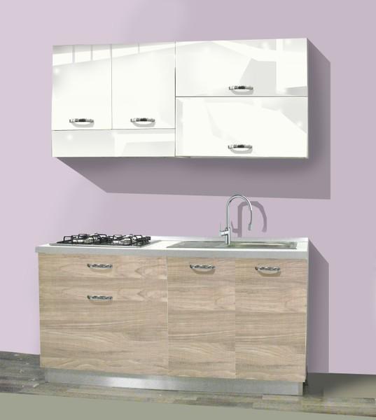 L 160 cm minicucine cucine lavelli for Cucina 150 cm